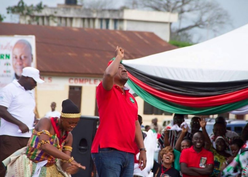Photo of Mahama storms Western region in first campaign tour