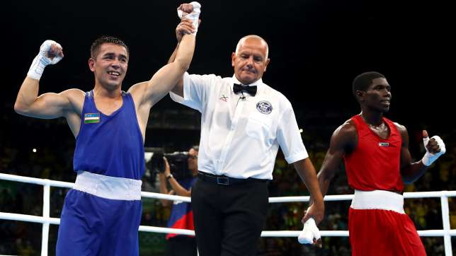Photo of Rio 2016: Dusmatov wins first boxing gold