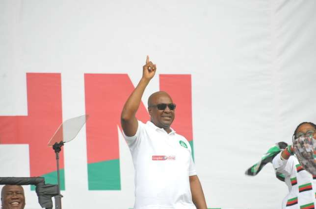 Photo of Mahama: Akufo-Addo slept while campaigning in Western Region