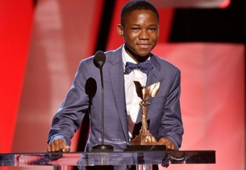 Photo of Abraham Attah adjudged 'Film Personality of the Year'