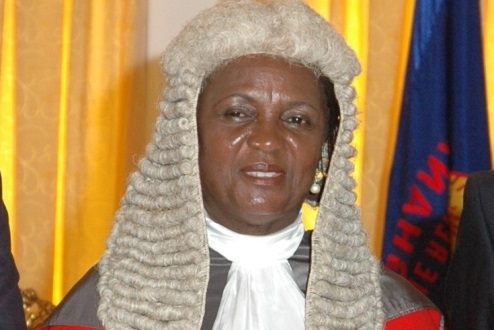 Photo of Chief Justice retires on 70th birthday