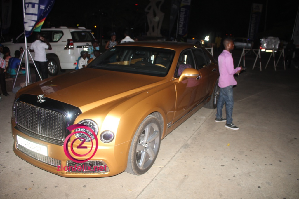 Photo of Zylofon CEO drove a GHC792,722 gold Bentley to Becca's UNVEILED