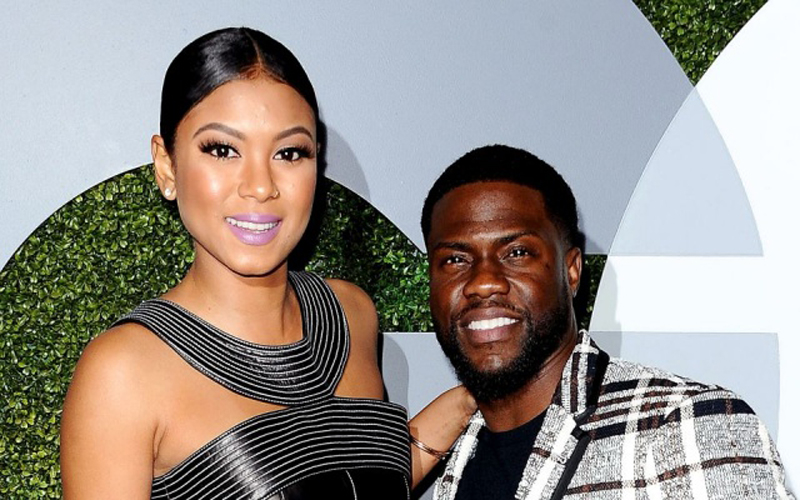 Photo of Eniko and Kevin Hart welcome their first child