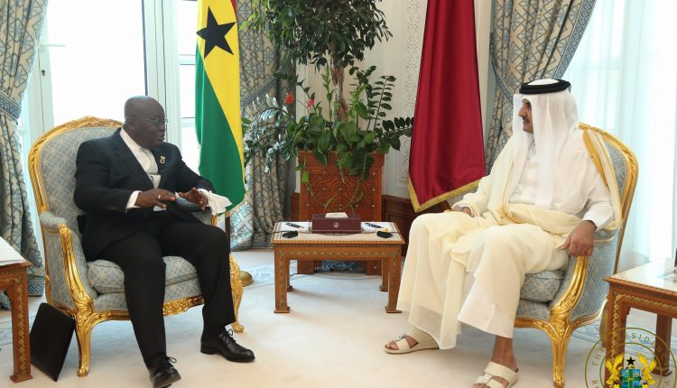 Photo of Akufo-Addo discusses energy, trade, infrastructure with Qatar's emir
