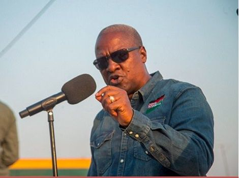 Photo of Occupying A Military Land: Ex Prez Mahama Replies Defence Minister