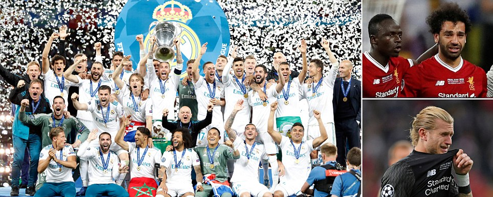 Photo of REAL MADRID WIN THE CHAMPIONS LEAGUE: Super-sub Bale scores twice – including incredible bicycle kick – as Karius makes two huge errors after Liverpool lose Salah to injury early on